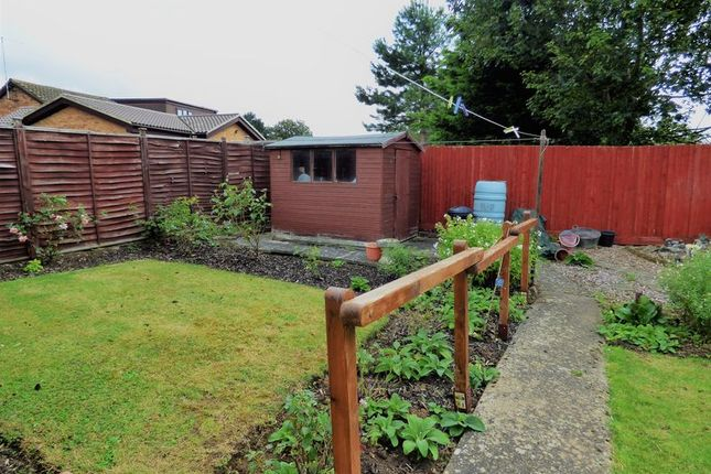 Rear Garden of Langford Drive, Wootton Village, Northampton NN4