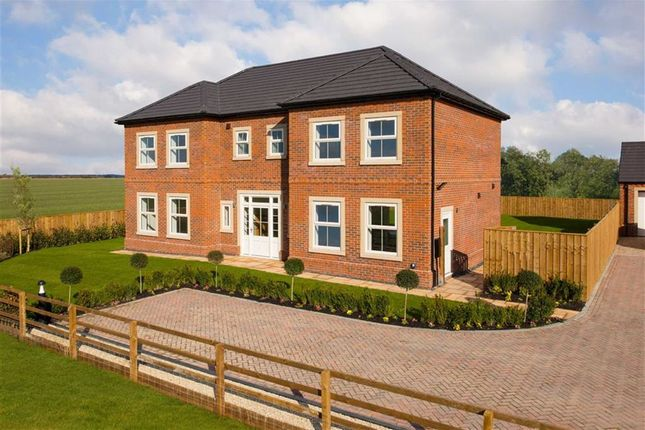 Thumbnail Detached house for sale in The Leas, Medburn, Ponteland