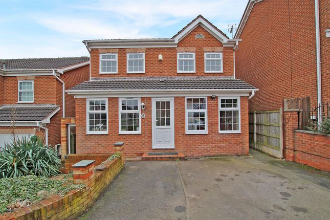Thumbnail Detached house for sale in Larch Close, Arnold, Nottingham