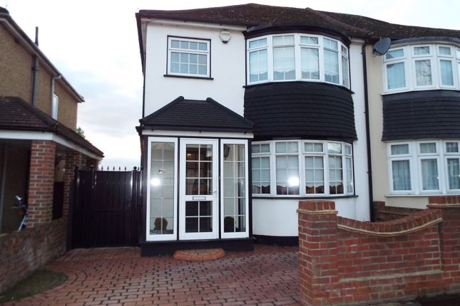 Thumbnail Semi-detached house for sale in Penrith Road, Ilford