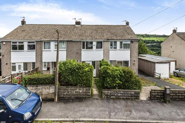 Thumbnail Terraced house for sale in Valley View Close, Oakworth, Keighley