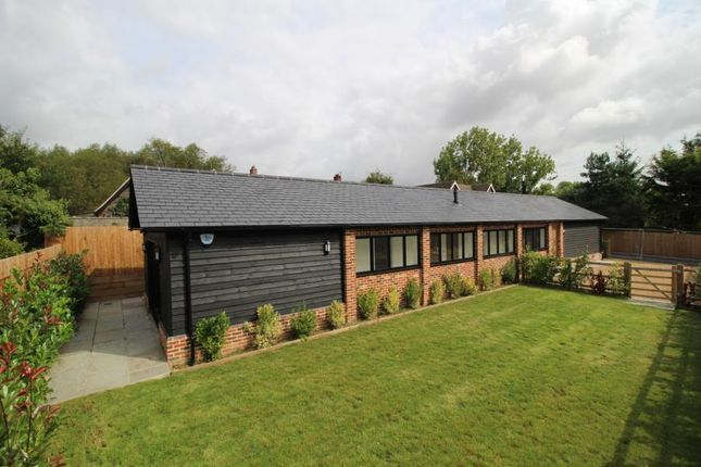 Thumbnail Detached bungalow for sale in Bassett Lodge, Magpie Lane, Little Warley, Brentwood