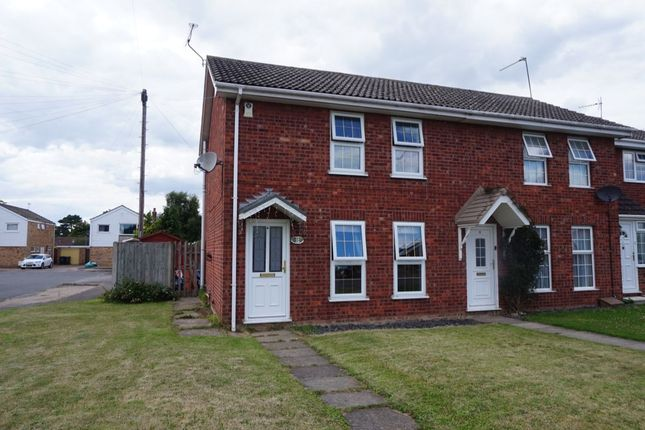 Thumbnail Terraced house to rent in Debnam Close, Belton, Great Yarmouth