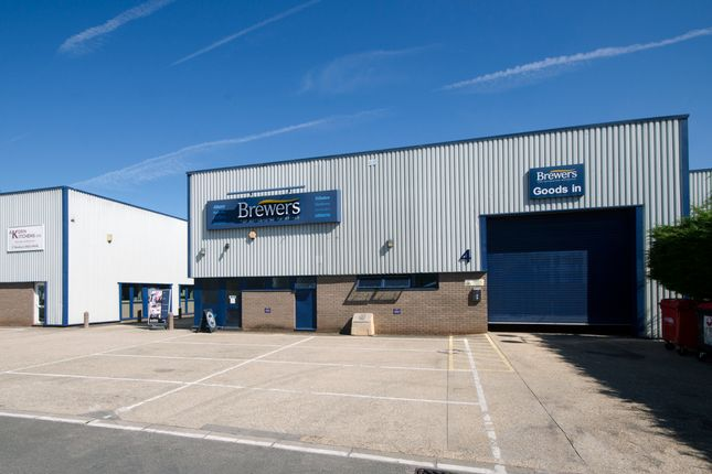 Thumbnail Industrial to let in Unit 4, The Paddock Trading Estate, Newbury