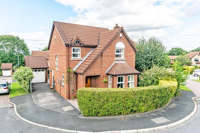 Thumbnail Detached house for sale in Appleford Close, Appleton, Warrington