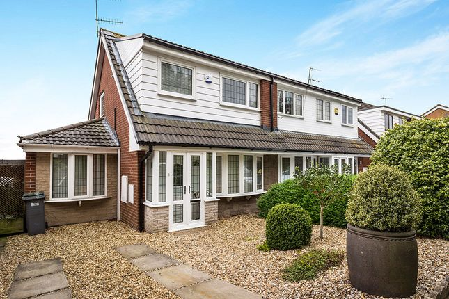 Thumbnail Semi-detached house for sale in Orwell Drive, Longton, Stoke-On-Trent