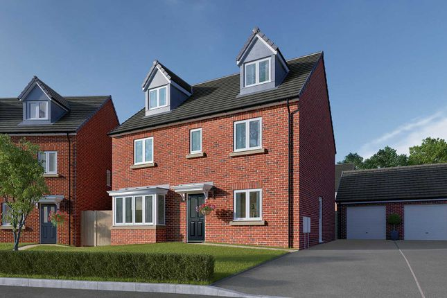 """Thumbnail Detached house for sale in """"The Fletcher"""" at Ripon Road, Killinghall, Harrogate"""