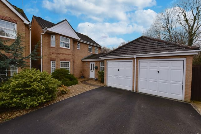 Thumbnail Detached house for sale in Campion Drive, Yeovil