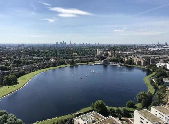 Thumbnail Flat for sale in Skyline Tower, Woodberry Down Estate, Woodberry Park, London