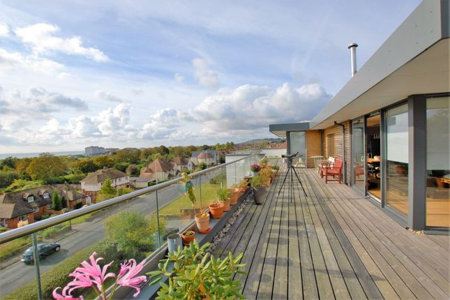 Thumbnail Penthouse for sale in Seabrook Road, Hythe