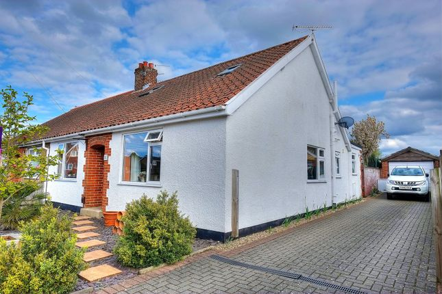 Thumbnail Semi-detached bungalow for sale in Gorse Avenue, Norwich