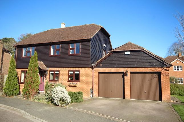 Thumbnail Detached house for sale in Well Close, Leigh, Tonbridge