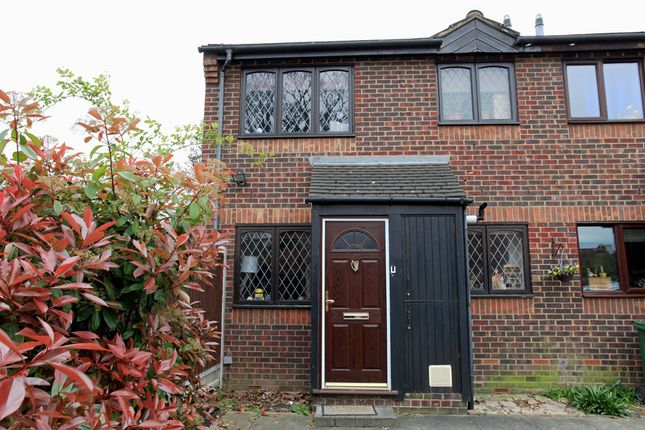 Thumbnail Semi-detached house for sale in Temple Close, Wadley Road, Upper Leytonstone