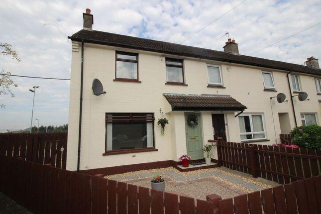 Thumbnail Terraced house for sale in Eglantine Crescent, Lisburn