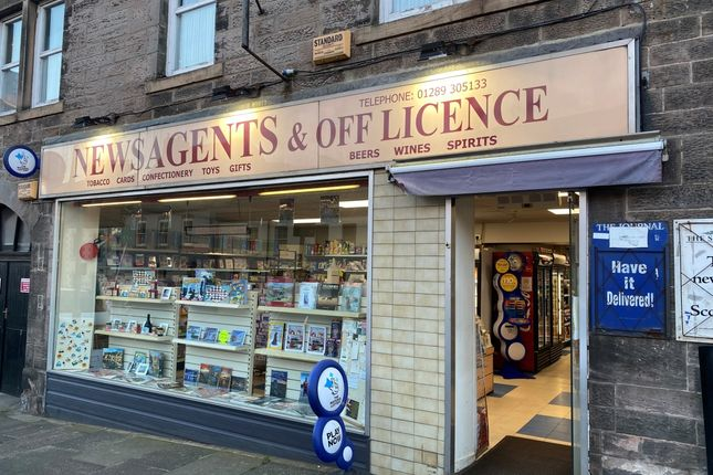 Thumbnail Retail premises for sale in Berwick-Upon-Tweed, Northumberland