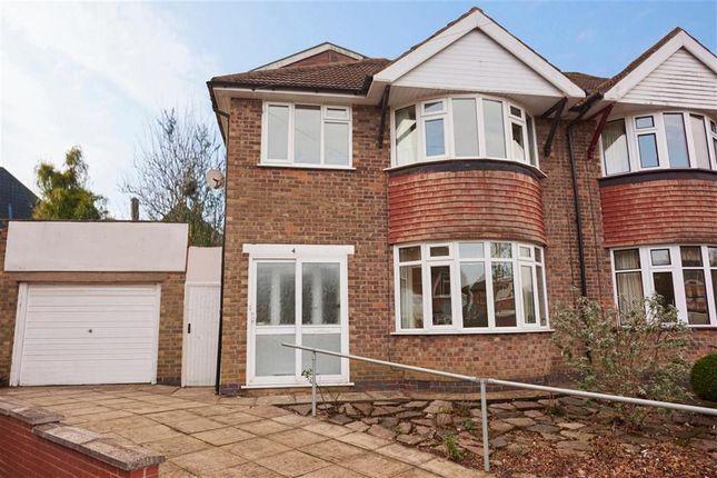 Thumbnail Semi-detached house to rent in Durston Close, Leicester
