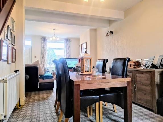 Dining Room of Abingdon Street, Ashton Under Lyne, Tameside, Greater Manchester OL6