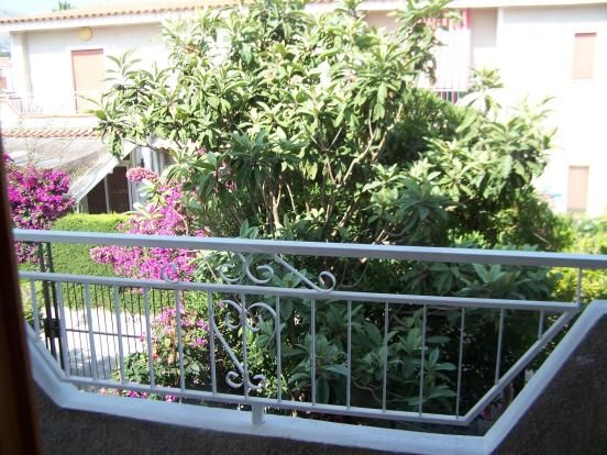 Balcony of Via Impresa, Scalea, Calabria, Italy