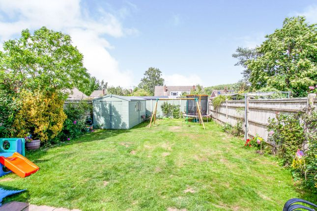 Rear Garden of Chestnut Drive, Maidstone ME17