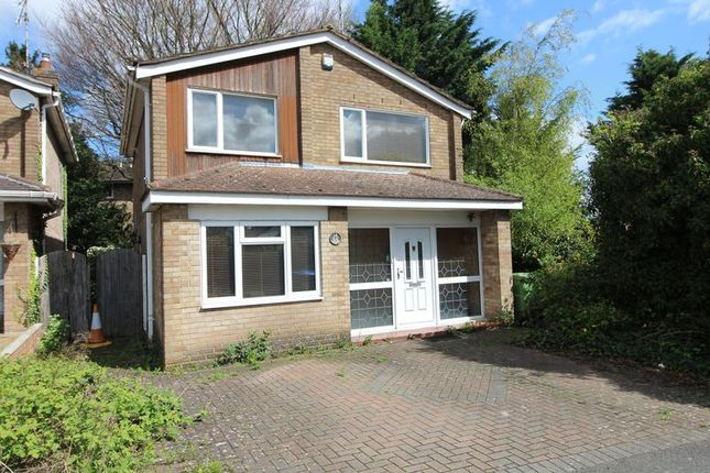 Detached house for sale in Tintagel Close, Luton
