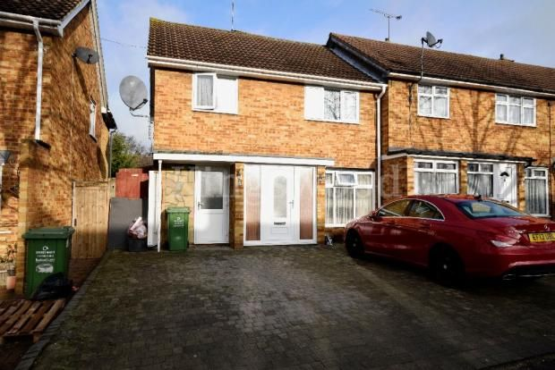 Thumbnail End terrace house for sale in Longacre, Basildon