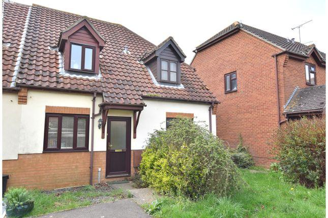 Thumbnail End terrace house for sale in Constance Close, Witham