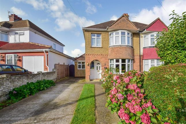 Thumbnail Semi-detached house for sale in Holtye Crescent, Maidstone, Kent