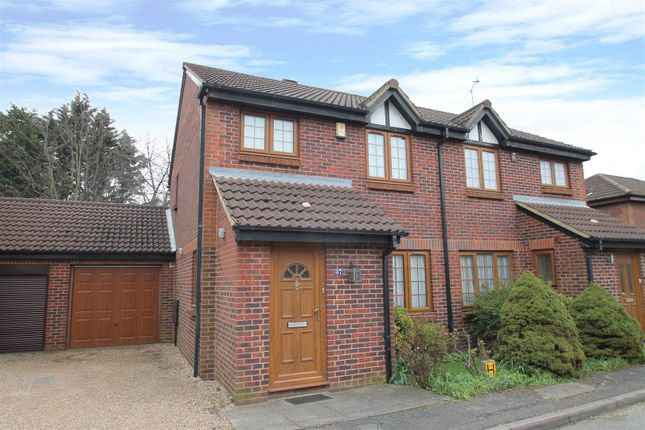 Thumbnail Semi-detached house for sale in Crothall Close, Palmers Green, London