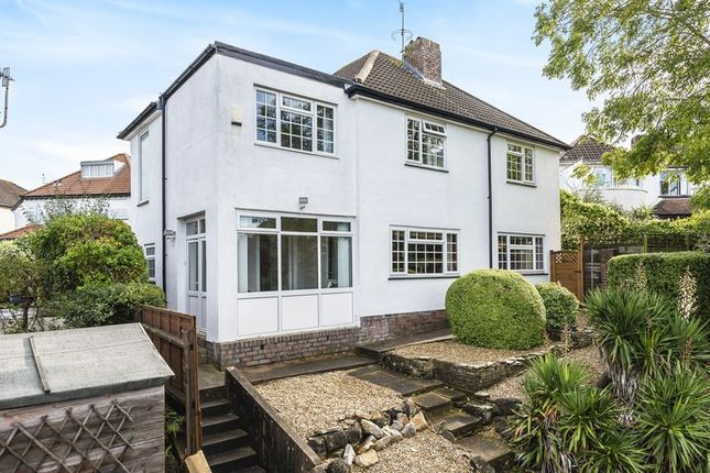 Thumbnail Detached house for sale in Falcondale Road, Westbury-On-Trym, Bristol