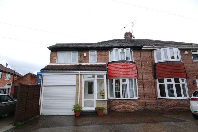 Thumbnail Semi-detached house for sale in Dalegarth Grove, Sunderland