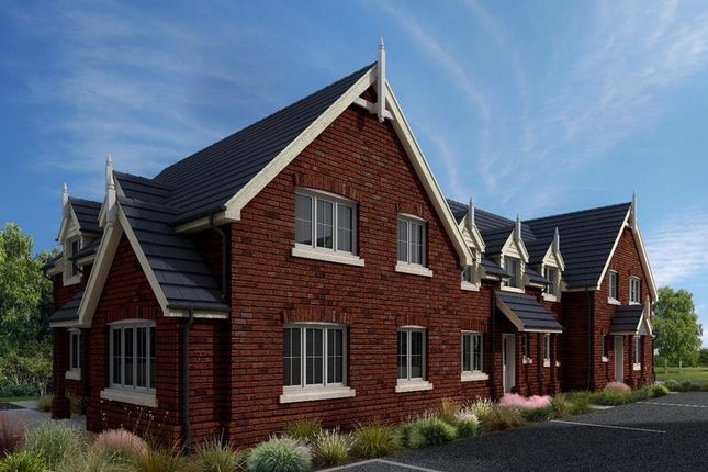 Thumbnail End terrace house for sale in Hardwick Court, Holme, Peterborough