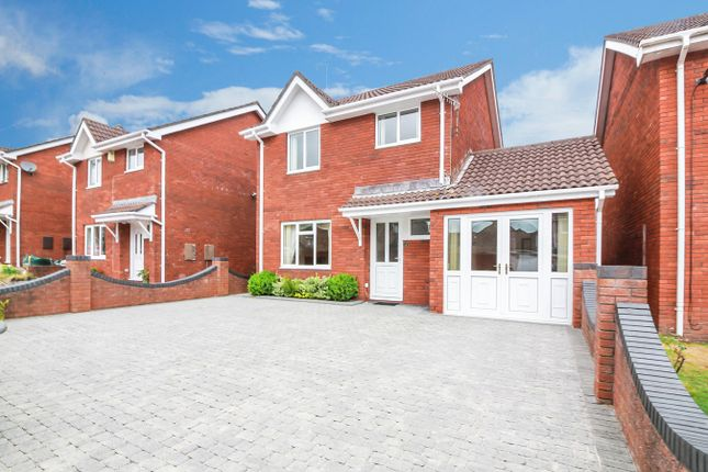 Thumbnail Detached house for sale in Greystones Crescent, Mardy, Abergavenny