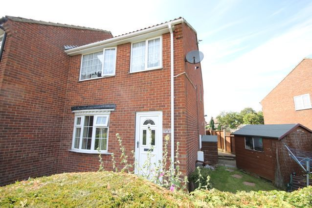 Thumbnail End terrace house for sale in Priest Close, Hunmanby, Filey