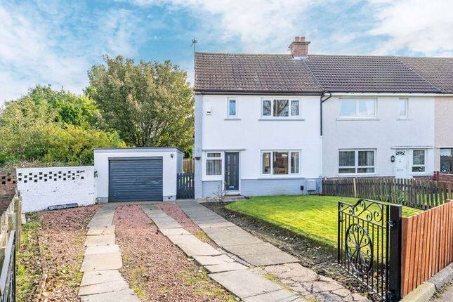 Thumbnail End terrace house for sale in Woodlands Crescent, Ayr