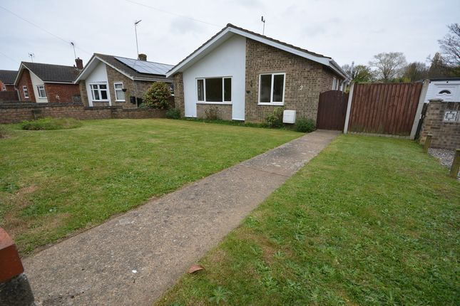 Thumbnail Detached bungalow to rent in Cotswold Way, Oulton, Lowestoft