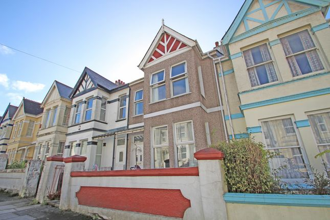 Thumbnail Terraced house for sale in Chestnut Road, Peverell, Plymouth