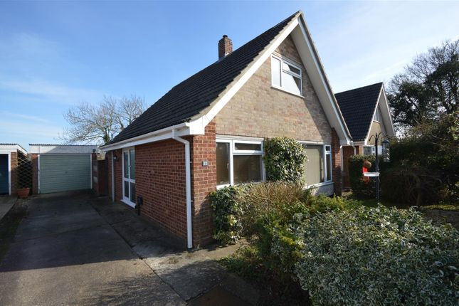 Thumbnail Detached bungalow for sale in Dovedale Road, Tacolneston, Norwich