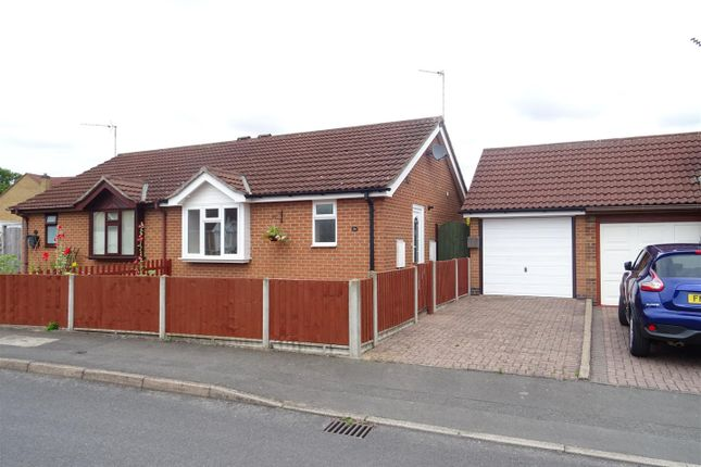 Thumbnail Semi-detached bungalow for sale in Ashland Drive, Coalville, Leicestershire