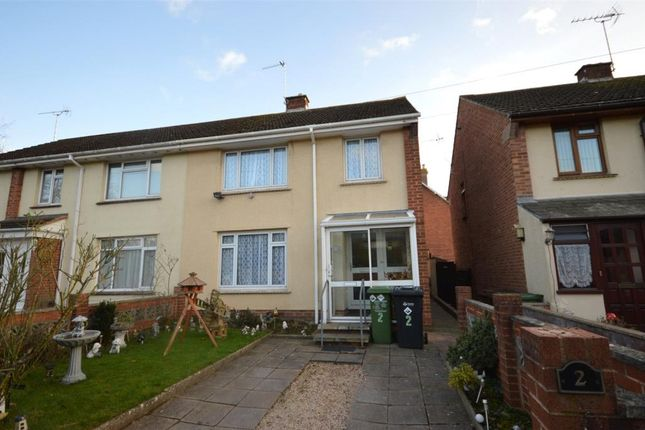 Thumbnail Semi-detached house for sale in Globefield, Topsham, Exeter, Devon