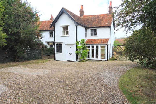 Thumbnail Semi-detached house for sale in Cock Green, Felsted