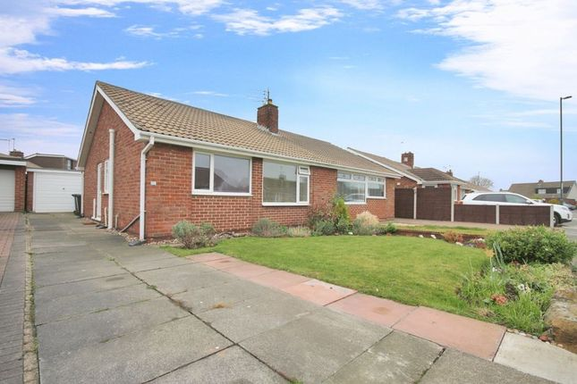 Thumbnail Semi-detached bungalow for sale in Castle Road, Redcar
