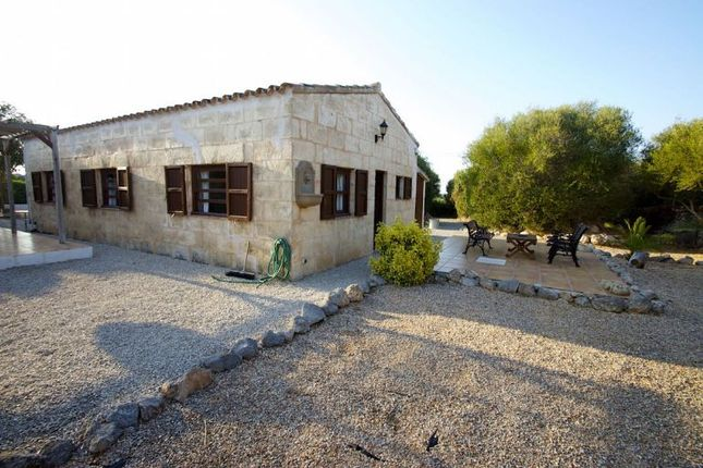 Stone Barn House of Alcaufar Vell, Sant Lluís, Menorca, Balearic Islands, Spain