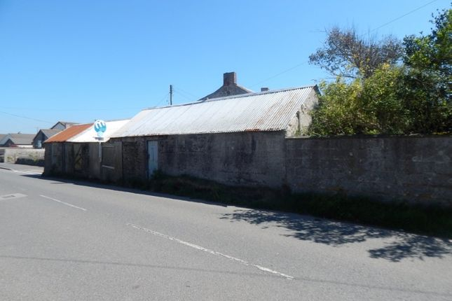 Thumbnail Land for sale in Land And Outbuildings Adjacent To, 1 Carn View Terrace, Pendeen, Penzance, Cornwall