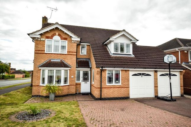 Thumbnail Detached house for sale in Longthorpe Close, Littleover, Derby