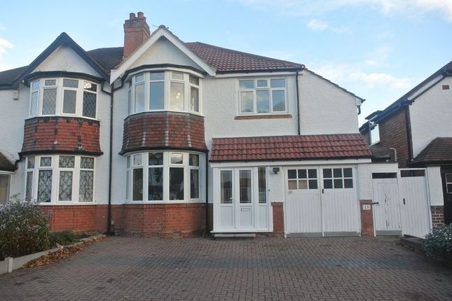 Thumbnail Semi-detached house for sale in Pembroke Croft, Hall Green, Birmingham