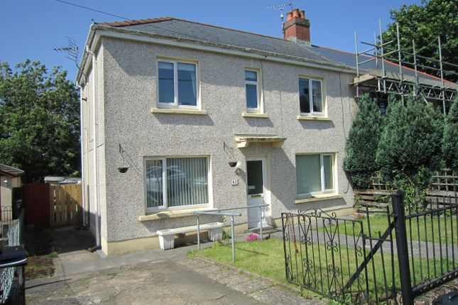 Thumbnail Semi-detached house for sale in Sannon Street, Aberbargoed
