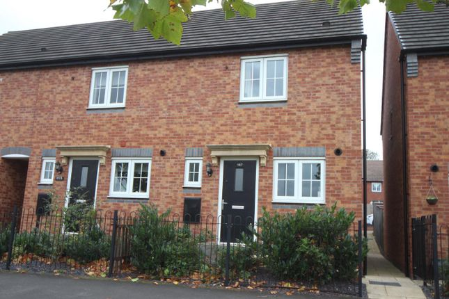 Thumbnail Town house to rent in Rugby Road, Burbage, Hinckley