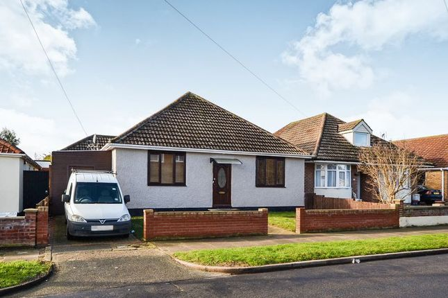 Thumbnail Detached bungalow for sale in Brighton Road, Holland-On-Sea, Clacton-On-Sea