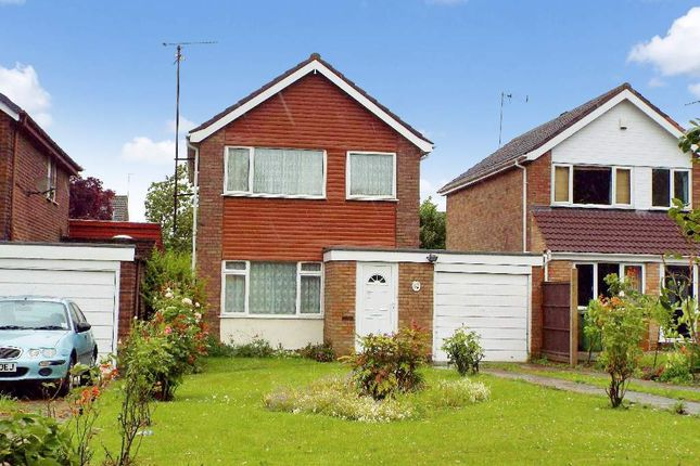 Thumbnail Detached house for sale in Fellows Close, Wollaston, Northamptonshire
