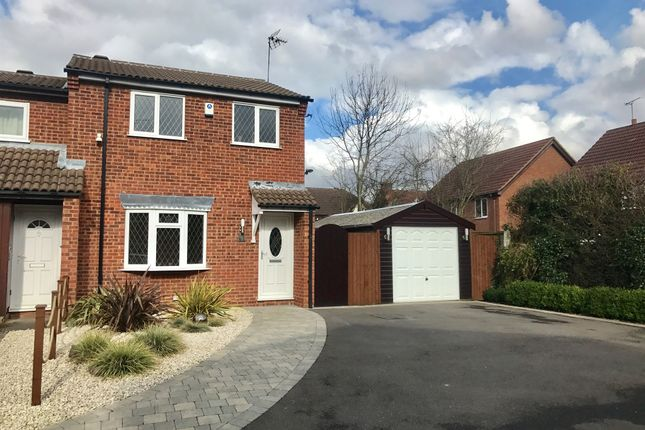 Thumbnail Semi-detached house for sale in Luccombe Drive, Alvaston, Derby